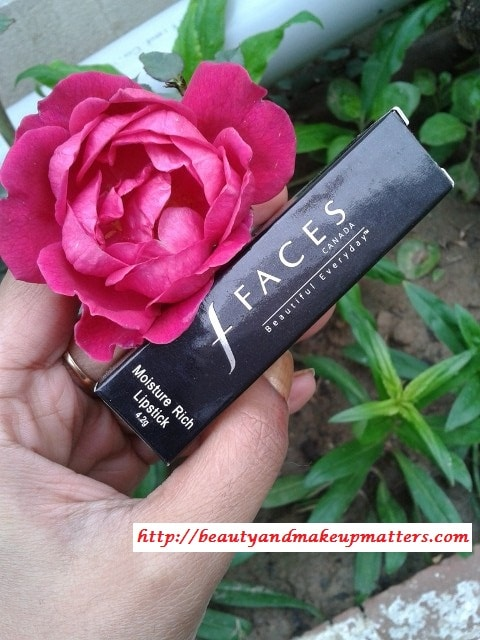 Faces-Moisture-Rich-Lipstick-Absolute-Plum-Review