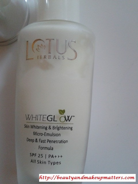 Lotus-Herbals-WhiteGlow-Micro-Emulsion-Review