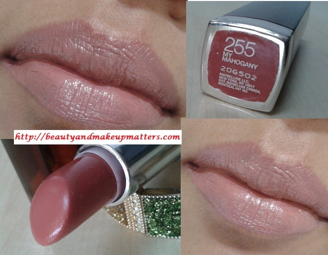 Maybelline-Color-Sensational-Lipstick-My-Mahogony-LOTD