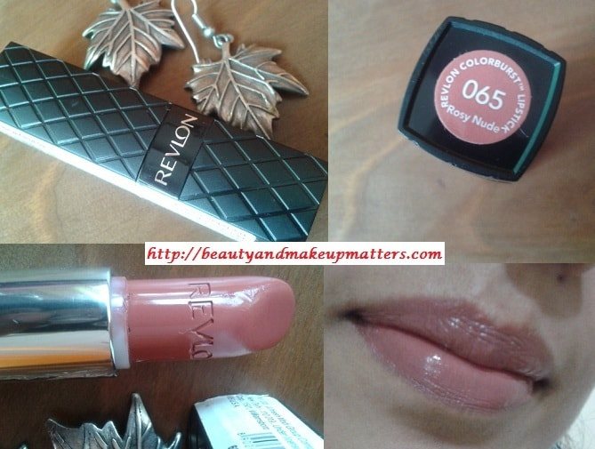Revlon-Color-burst-Rosy-Nude-Lipstick-Look