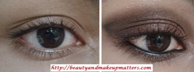 EyeMakeupTutorial-Metallic-Copper-Brown-Smokey-Eyes-Look-Before-After