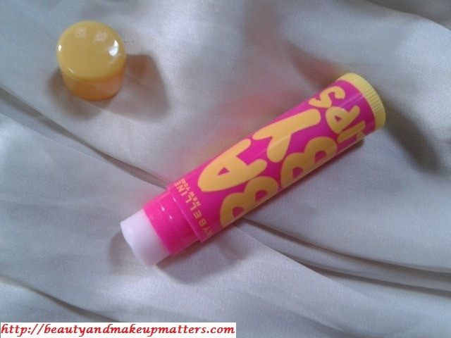 Maybelline-Baby-lips-Mango-Pie-LipBalm-Review
