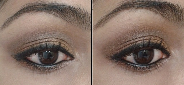 INGLOT Eye Shadow 360 Matte EOTD