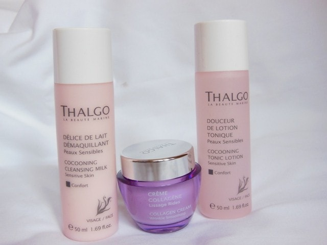 Thalgo Skincare Cllagen Cream, Cleansing Cream and Tonic Lotion