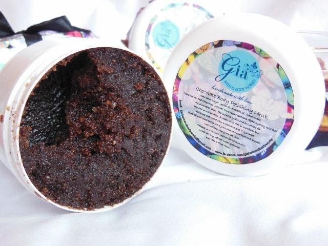 Gia Bath and Body Works Chocolate Body Polish