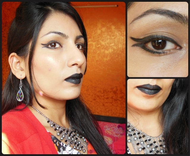 What Am I Wearing Today - Gothic Black Lips