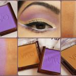VIVO Eye Shadow Purple Passion and SandStorm Eye Look