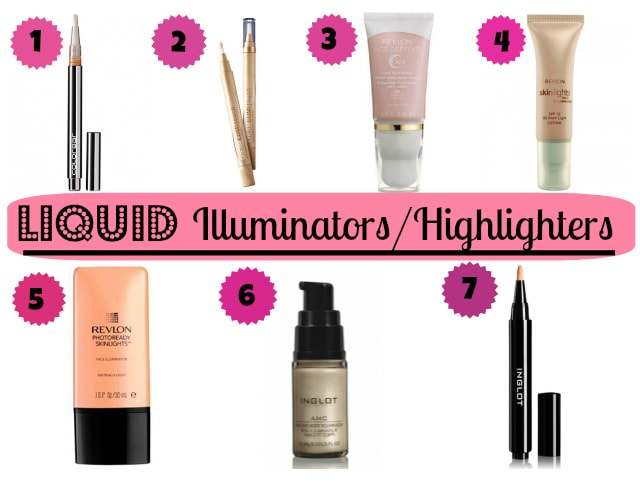 Best Liquid Illuminators - Highlighters