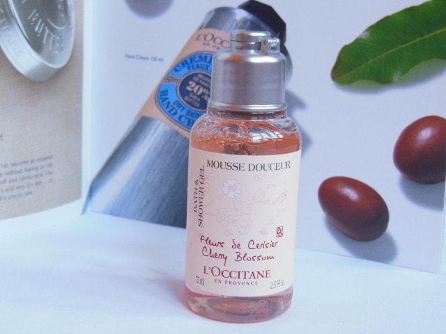 L'Occitane Cherry Blossom Shower Gel Review