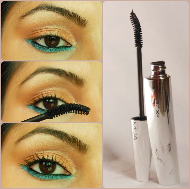 Makeup Academy MUA Extreme Curl Mascara Black Brown EOTD