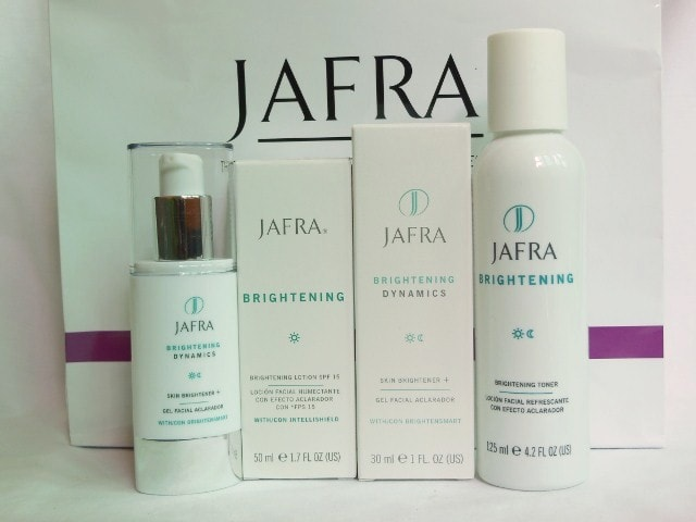 Jafra Brightening Skin Care Range