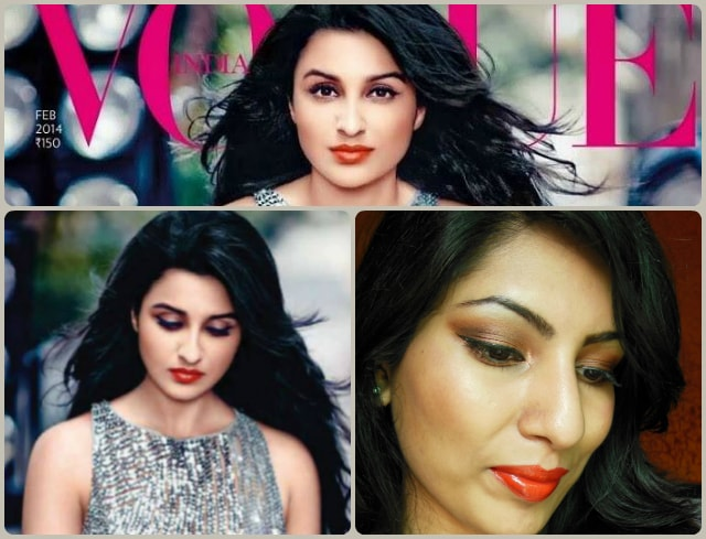 Parineeti Chopra Inspired Eye makeup Look