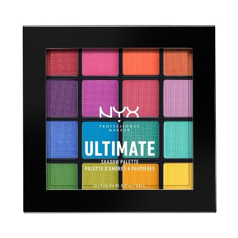 Best Eye Shadow Palette India - Nyx Professional Makeup Ultimate Shadow Palette Brights