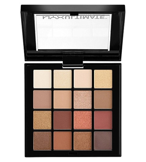 Best Eyeshadow Palette India -Nyx Professional Makeup Ultimate Shadow Palette Smokey