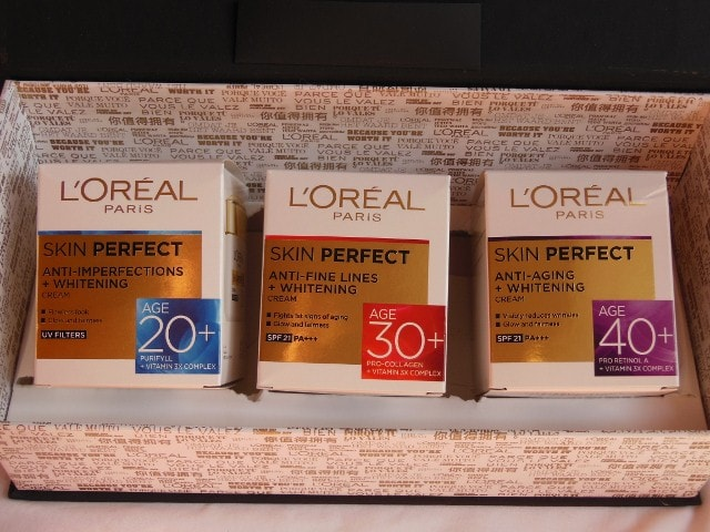 L'Oreal Skin Perfect Skin care Range