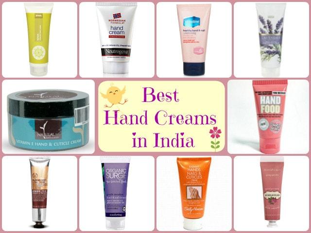 Best Hand Creams In India