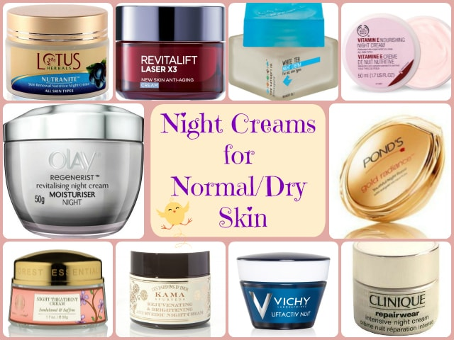Best Night Creams for Normal - Dry Skin