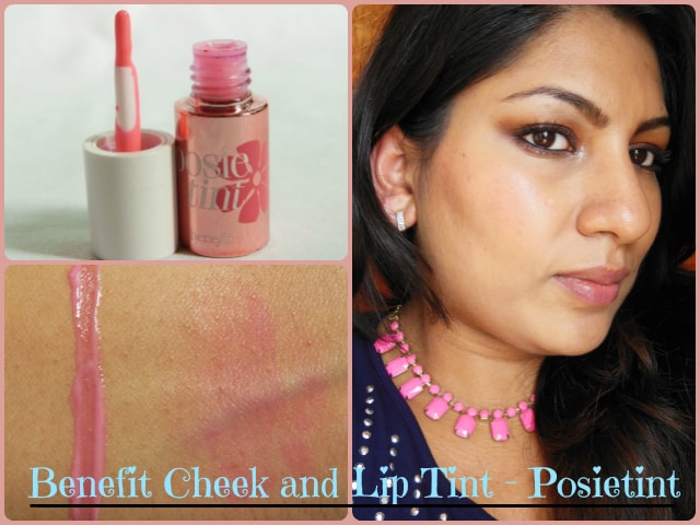 Benefit Lip and Cheek Tint Posietint Look