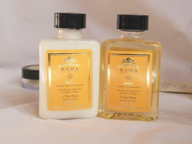 Kama Ayurveda Sanobar Body Cleanser and Moisturizer