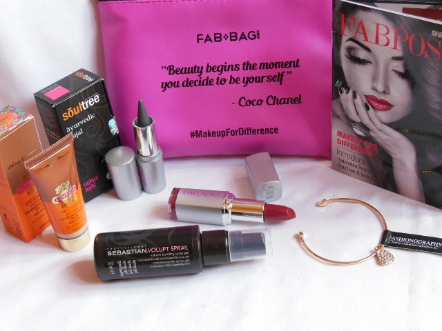 March Fab Bag Contents