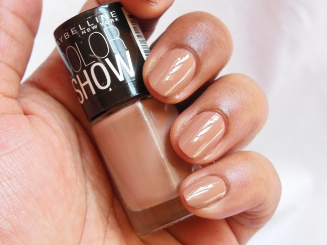 Maybelline Colorshow Nude Skin Nail Paint NOTD