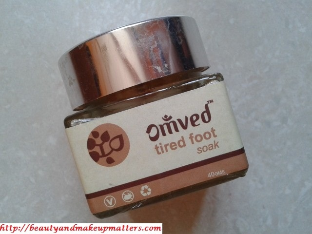 Omved Tired Foot Soak Salts