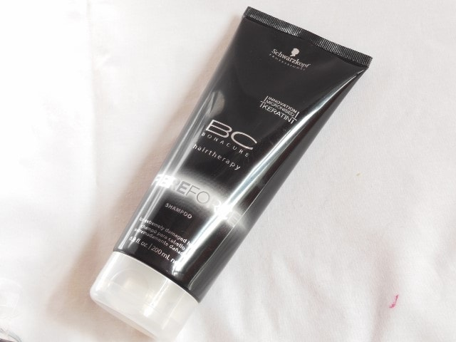 Schwarzkopf Bonacure BC Fibre Force Shampoo Review