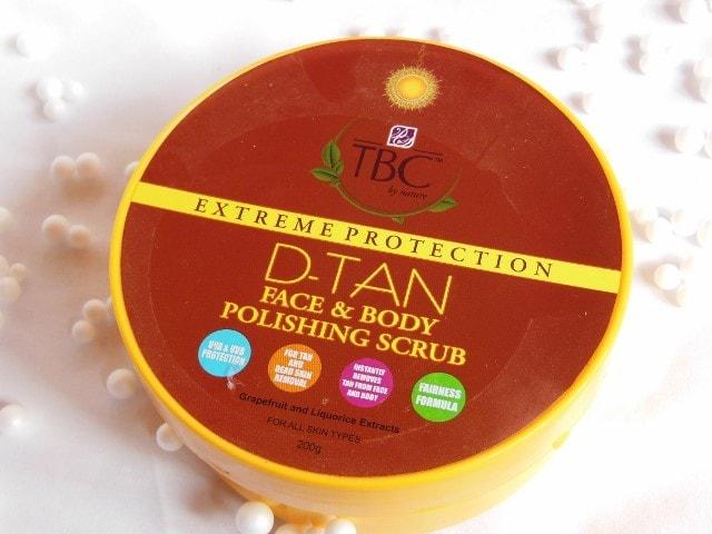 TBC By Nature D-Tan Face and Body Polishing Scrub