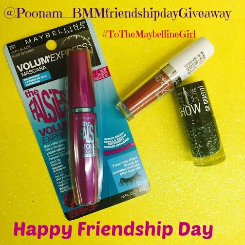 Maybelline Friendship Day Contest