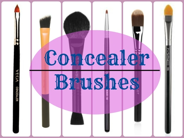 Makeup Brushes Guide - Concealer Brushes