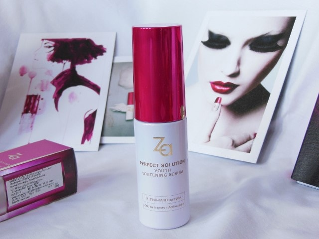 Za Youth Whitening Serum Review