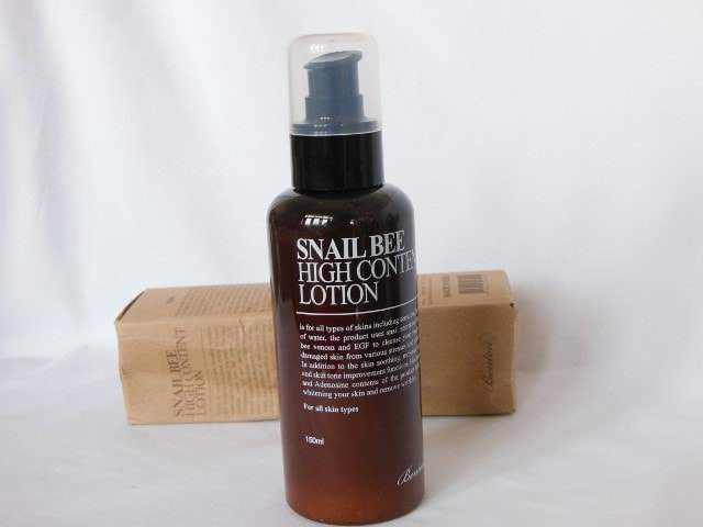 Benton Snail Bee High Content Lotion Bottle