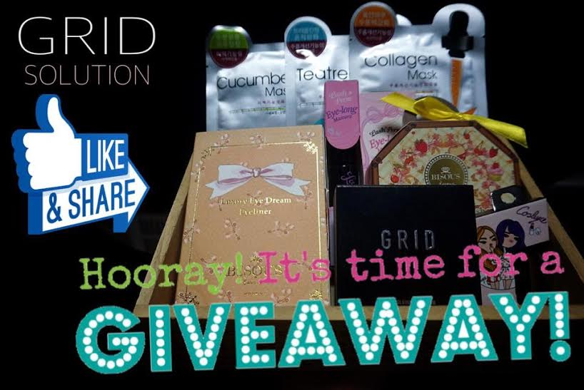 Korean Makeup and Skincare GRID Solution UK Giveaway