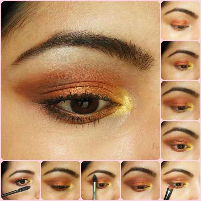 Warm Copper Smokey Eyes Eye Makeup Tutorial