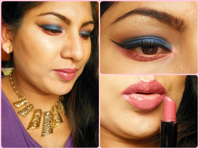 What Am I Wearing Today- Blue eyes and Rosey Lips