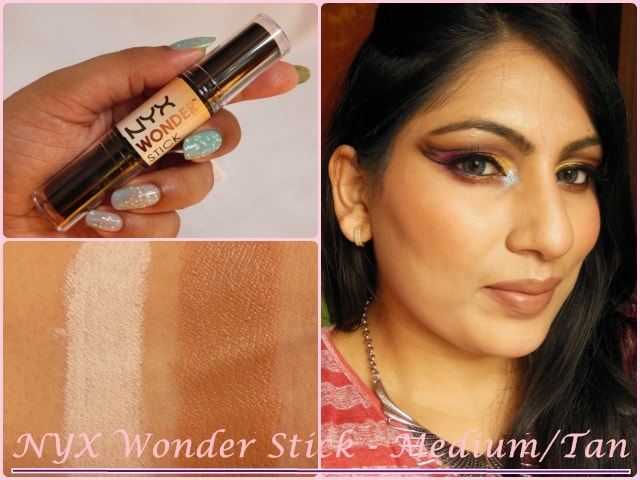 NYX Wonder Stick Medium Look