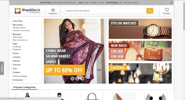 ShopAlike Website