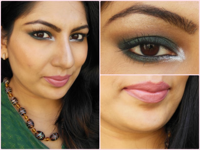 What Am I Wearing Today -Dark Green Smokey Eyes