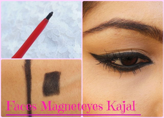 Faces Magneteyes kajal Look