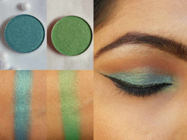 Makeup Geek Mermaid and Appletini Look