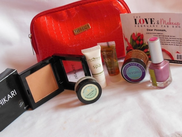 February Fab Bag 2016 Review