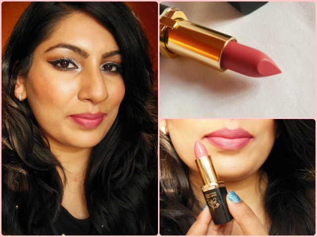 Loreal Paris La Vie En Collection - Moist Mat Lipsticks- Eva look