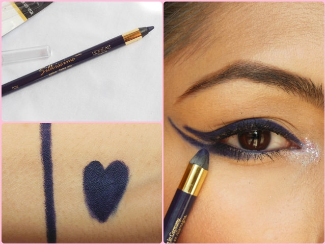 L'Oreal Paris Infallible Silkissime Eye Liner Plum Prune Look