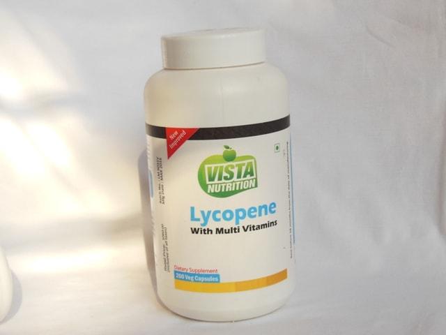 Vista Nutrition Lycopene Supplement Vegetarian Capsules