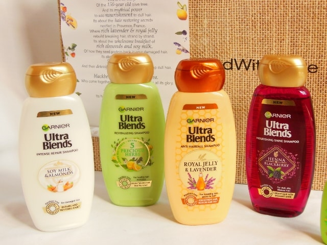 Garnier Ultra Blends Shampoos Range Review