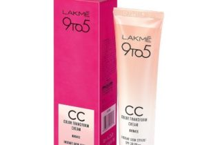 New Launch - Lakme 9 To 5 Complexion Care Color Transform CC Cream