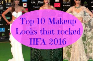 Top 10 Makeup Looks at IIFA 2016