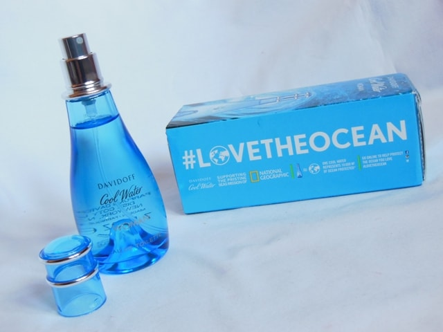 Davidoff Cool Water Woman EDT and #lovetheocean campaign