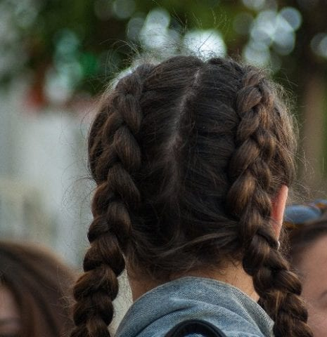 Different ways to French Plait Hair - double French plait