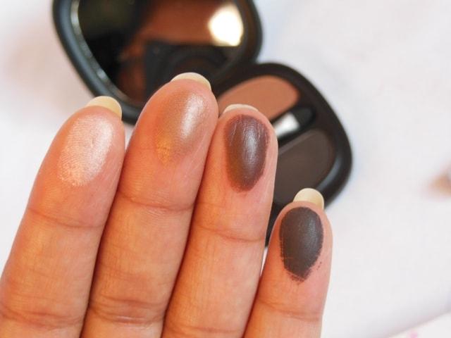 Kiko Milanno Neo Muse Eye shadow palette Mahogany Silhouette Swatch